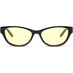 Jewel Prescription (Frame Color: Onyx, Prescription Lens: Single Vision, Lens Tint: Amber)