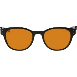 MOD Prescription (Frame Color: Onyx, Prescription Lens: Single Vision, Lens Tint: Amber Max)