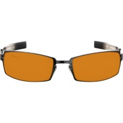 PPK Prescription (Frame Color: Onyx Mercury, Prescription Lens: Single Vision, Lens Tint: Amber Max)