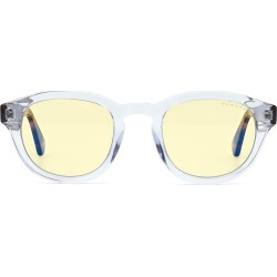 Emery Prescription (Frame Color: Crystal Tortoise, Prescription Lens: Single Vision, Lens Tint: Amber-Transitions)