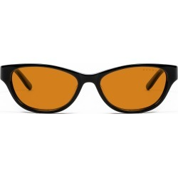 Jewel Prescription (Frame Color: Onyx, Prescription Lens: Single Vision, Lens Tint: Amber Max)