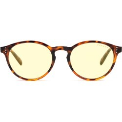 Attaché Prescription (Frame Color: Tortoise, Prescription Lens: Single Vision, Lens Tint: Amber)