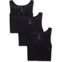 Diesel SYK4WAVC Johnny Cotton Stretch Tanks - 3 Pack (Black S) found on Bargain Bro Philippines from hisroom.com for $44.00