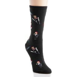 Ralph Lauren 79022 Tossed Bear Trouser Sock (Black O/S) found on Bargain Bro Philippines from herroom.com for $8.00