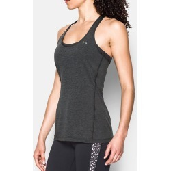 Under Armour 1271765 UA HeatGear Armour Racer Tank (Carbon Heather L) found on Bargain Bro India from herroom.com for $11.95