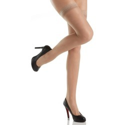 Hanes 720 Silk Reflections Silky Thigh Highs (Soft Taupe C/D) found on Bargain Bro India from herroom.com for $11.00