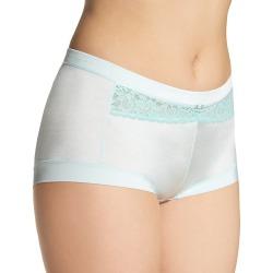 Maidenform 40774 Dream Microfiber Boyshort Panty (Barely Blue/Tidal Foam 5) found on Bargain Bro India from herroom.com for $8.40