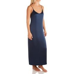 La Perla 20292 Seta Silk Long Nightgown (Denim M) found on MODAPINS from herroom.com for USD $262.00