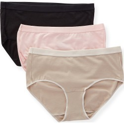 Hanes 40XTSA Ultimate X-Temp ComfortBlend Brief Panty - 3 Pack (EngRose/OatmealHtr/Blk 5) found on Bargain Bro Philippines from herroom.com for $18.20