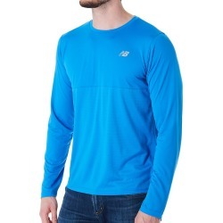 New Balance MT93182 Accelerate Performance Long Sleeve T-Shirt (Lapis Blue M) found on Bargain Bro India from hisroom.com for $24.95