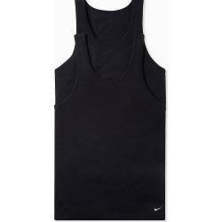 Nike KE1011 Everyday Stretch Tanks - 2 Pack (Black XL) found on Bargain Bro India from hisroom.com for $35.00