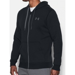 Under Armour 1302290 Rival Fitted Full Zip Hoodie (Black 2XL) found on Bargain Bro India from hisroom.com for $54.98