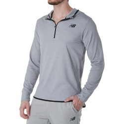 New Balance MT93089 Tenacity Hooded Quarter Zip (Athletic Grey XL) found on Bargain Bro Philippines from hisroom.com for $50.00
