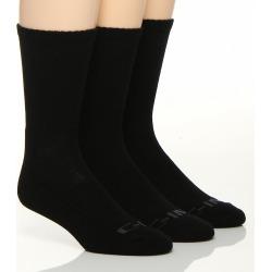 C-in2 2001 Core Athletic Crew Socks - 3 Pack (Black O/S)