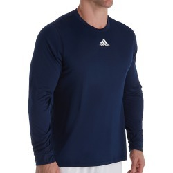 Adidas EK012 Climalite Creator Long Sleeve T-Shirt (Collegiate Navy S) found on Bargain Bro Philippines from hisroom.com for $30.00