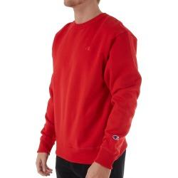 Champion S0888 Powerblend Fleece Crew neck Sweatshirt (Team Red Scarlet 4XL)