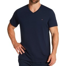 Tommy Hilfiger 09T3140 Core Flag V-Neck T-Shirt (Dark Navy L) found on Bargain Bro India from hisroom.com for $24.00