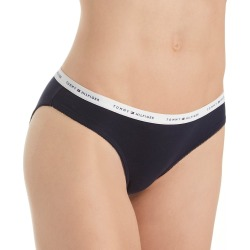 Tommy Hilfiger R14T039 Classic Cotton Logo Bikini Panty (Navy Blazer M) found on Bargain Bro India from herroom.com for $8.95