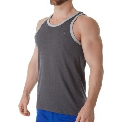 Champion T0224 Classic Jersey Ringer Tank (Granite Heather S) found on Bargain Bro India from hisroom.com for $17.00