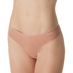 Calvin Klein QD3643 Form Cotton Blend Thong (Warm Camel M) found on Bargain Bro India from herroom.com for $13.00