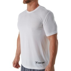 Stacy Adams SA1500 Lightweight ComfortBlend Crew Neck T-Shirt (White M) found on Bargain Bro India from hisroom.com for $16.10
