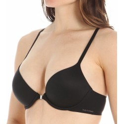 Calvin Klein QF1092 Perfectly Fit Modern Racerback T-Shirt Bra (Black 36A) found on Bargain Bro India from herroom.com for $34.50