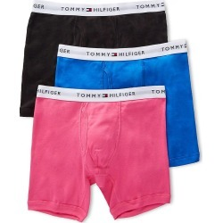 Tommy Hilfiger 09TE001 Basic 100% Cotton Boxer Brief - 3 Pack (Bright Rose XL) found on Bargain Bro Philippines from hisroom.com for $29.63