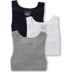 Tommy Hilfiger 09TTK01 Basic 100% Cotton A-Shirt - 3 Pack (Multi L) found on Bargain Bro Philippines from hisroom.com for $29.63