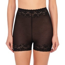 Natori 775252 Sheer Glamour High Rise Boyshort Panty (Black XL) found on Bargain Bro from herroom.com for USD $22.80