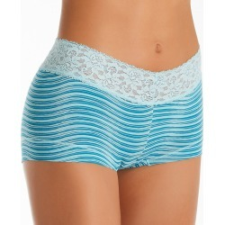 Maidenform 40859 Dream Cotton Boyshort Panty with Lace (Amazing Pale Stripe 5) found on Bargain Bro India from herroom.com for $8.40