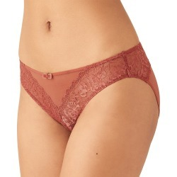 b.tempt'd by Wacoal 932204 Lace Encounter Bikini Panty (Marsala L) found on Bargain Bro from herroom.com for USD $16.72