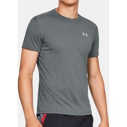 Under Armour 1326579 Streaker 2.0 Short Sleeve T-Shirt (Pitch Gray M) found on Bargain Bro India from herroom.com for $35.00