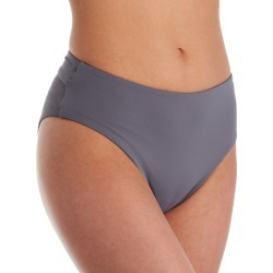 O'Neill 9474103 Salt Water Solids Hi-Waist Brief Swim Bottom (Dusk M) found on Bargain Bro India from herroom.com for $44.00