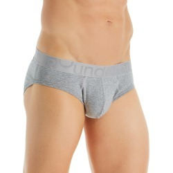Rounderbum JC15 Padded Tech Butt Enhancer Brief (Heather Grey L)