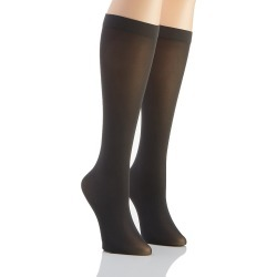Hanes HST015 Perfect Socks Opaque Mid Calf - 2 Pack (Grey S/M) found on Bargain Bro Philippines from herroom.com for $7.00