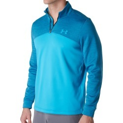 Under Armour 1286334 Armour Fleece Icon 1/4 Zip (Blue Shift 3XL) found on Bargain Bro India from hisroom.com for $54.98