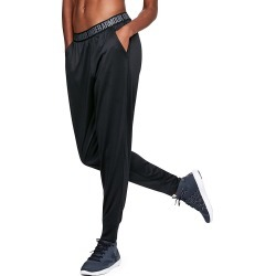 Under Armour 1311332 UA Tech Play Up Solid Jogger Pant (Black L) found on Bargain Bro India from herroom.com for $45.00