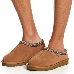 UGG 5950 Tasman Suede Slipper (Chestnut Shoe 13) found on Bargain Bro Philippines from hisroom.com for $100.00