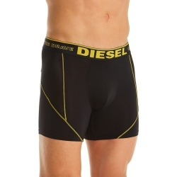 Diesel 0942KAYK Sebastian Boxer Brief (Black/Yellow XL) found on Bargain Bro India from hisroom.com for $30.00