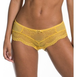Gossard 7714 Superboost Lace Short Panty (Spicy Mustard S) found on MODAPINS from herroom.com for USD $30.00
