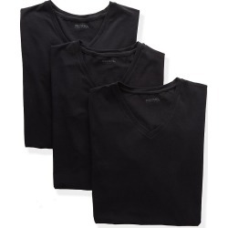 Diesel SHGUQAZY Michael Cotton Stretch V Neck T-Shirts - 3 Pack (Black M) found on Bargain Bro India from hisroom.com for $44.00