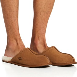UGG 1101111 Scuff Suede Slipper (Chestnut Shoe 13)