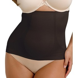 Miraclesuit 2913 Shape Away With Back Magic Waist Cincher (Black 2X)