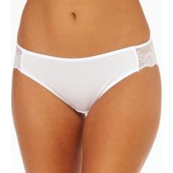 Maidenform 40159 Comfort Devotion Lace Back Tanga Panty (White 8)
