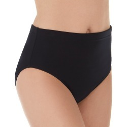 MagicSuit 6006038 Solid Jersey Classic Brief Swim Bottom (Black 16) found on Bargain Bro India from herroom.com for $70.00