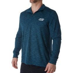 Skechers SMLT1680 Crest Quarter Zip Pullover (Reflecting Pond M) found on Bargain Bro India from hisroom.com for $52.00