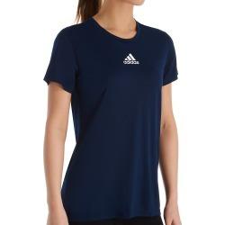Adidas 12H5 Creator Climalite Short Sleeve Crew Neck Tee (Collegiate Navy L) found on Bargain Bro from herroom.com for USD $19.00