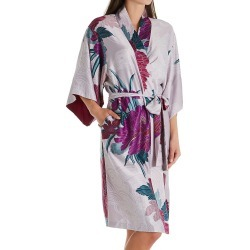 Natori L74020 Jubako Robe (Silver Pearl XL) found on Bargain Bro from herroom.com for USD $121.60