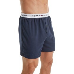 Tommy Hilfiger 09T3108 Basic 100% Cotton Knit Boxer (Dark Navy M) found on Bargain Bro India from hisroom.com for $24.00
