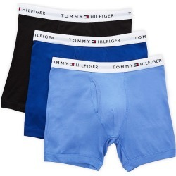 Tommy Hilfiger 09TE001 Basic 100% Cotton Boxer Brief - 3 Pack (Ink Blue L) found on Bargain Bro India from hisroom.com for $39.50